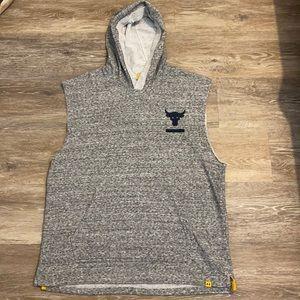 Under armor men's size large sleeveless hoodie